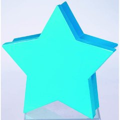 Blue Large Star Paper Container Box