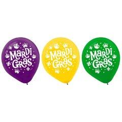 Mardi Gras Latex Balloons