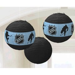 NHL Ice Time! Paper Lanterns
