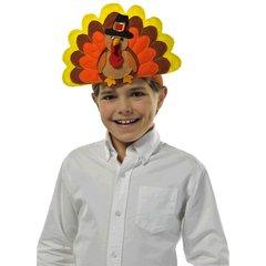 Happy Turkey Day Fabric Headband