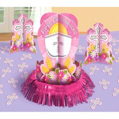 Communion Pink Table Decorating Kit