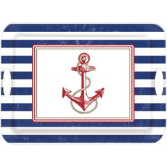 Anchors Aweigh Melamine Handle Tray