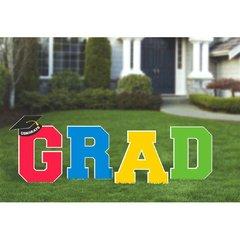 Grad Multicolor Plastic Yard Stakes