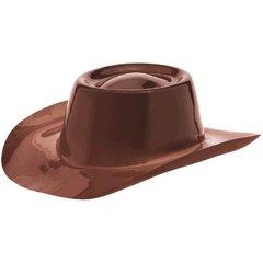 Western Cowboy Hat - Brown