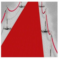 Fabric Aisle Runner - Red