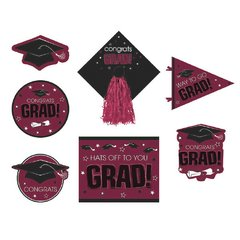 Berry Graduation Deluxe Cutouts