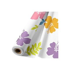Hibiscus White Table Roll 100ft x 40in