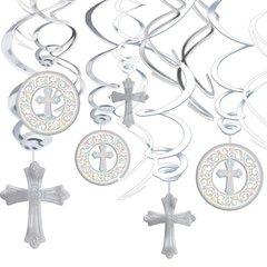 Communion Value Pack Foil Swirl Decorations