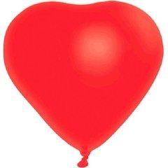 Heart-Shaped Latex Balloon