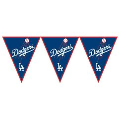 Los Angeles Dodgers Major League Baseball Pennant Banner