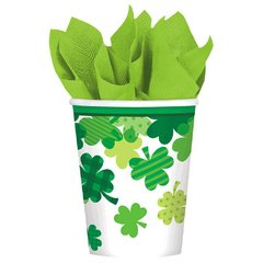 Blooming Shamrocks Cups, 9 oz.