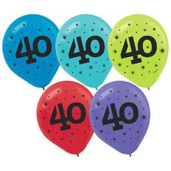 """40"" Printed Latex Balloons"