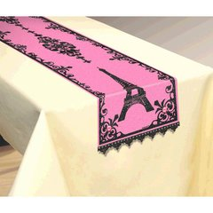 Day in Paris Fabric Table Runner