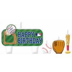 MLB Birthday Candle Set