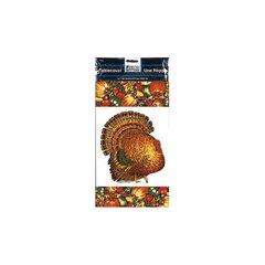 Autumn Turkey Plastic Table Cover