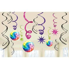 Disco 70's Value Pack Swirl Decorations
