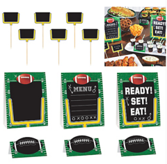 Football Buffet Decorating Kit
