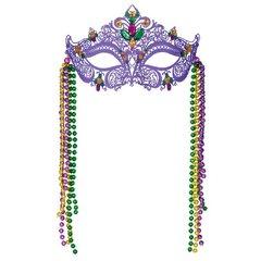 Mardi Gras Filigree Mask