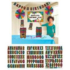 Happy Birthday Tiki Room Decorating Kit