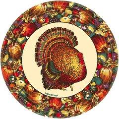 Autumn Turkey Dinner Plates