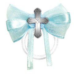 Communion Fabric Favor Ties - Blue