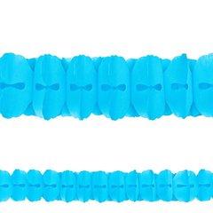 Carribbean Blue Paper Garland, 12'