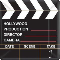 "Director's Cut Square Plates, 10"""