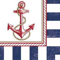Anchors Aweigh Luncheon Napkin