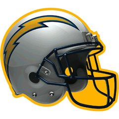 Los Angeles Chargers Bulk Cutout