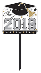 """2018"" Graduation Yard Sign"