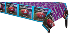 """Super Bowl LII"" Table Cover"