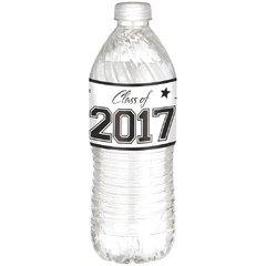 Grad 2017 Water Bottle Labels