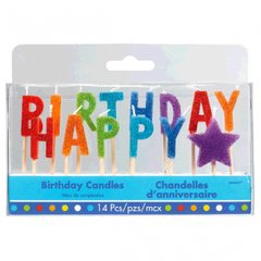 Bright Birthday Pick Candles