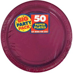 """Berry Big Party Pack Paper Plates, 9"""""""