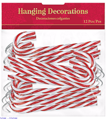 Candy Cane Hanging Decorations
