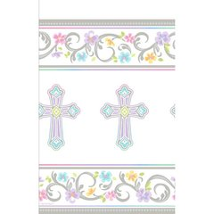 Blessed Day Paper Table Cover