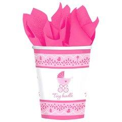 Celebrate Baby Girl Cups, 9 oz.