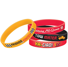 ©Disney Cars Formula Racer Rubber Wristband Favors