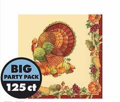 Joyful Thanksgiving Beverage Napkins