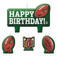 NFL Drive Molded Birthday Candle Set