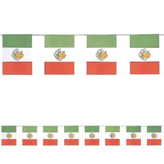 Mexican Flags Paper Flag Banner
