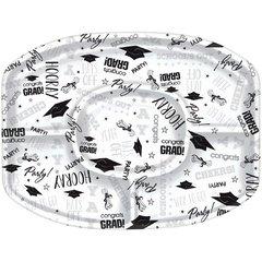 White Grad Platter