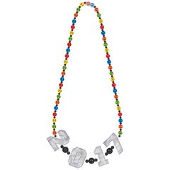 2017 Giant Bead Necklace - Rainbow
