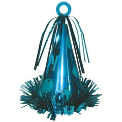 Party Hat Balloon Weight - 11 Caribbean Blue