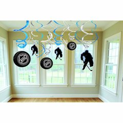NHL Ice Time! Swirl Decorations Value Pack