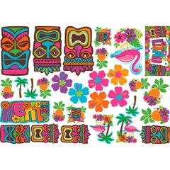 Tiki Assortment Mega Value Pack Cutouts