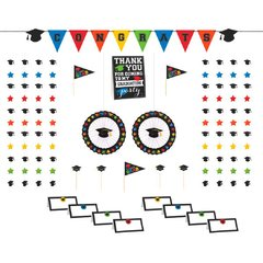 Grad Candy Buffet Decorating Kit - Multicolor