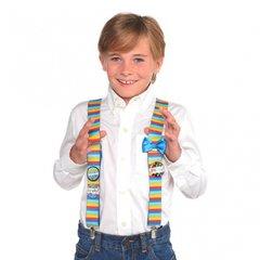 Birthday Brights Suspenders