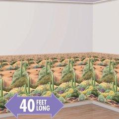 Desert Flora Scene Setter® Room Roll