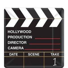 "Director's Cut Square Plates, 7"""